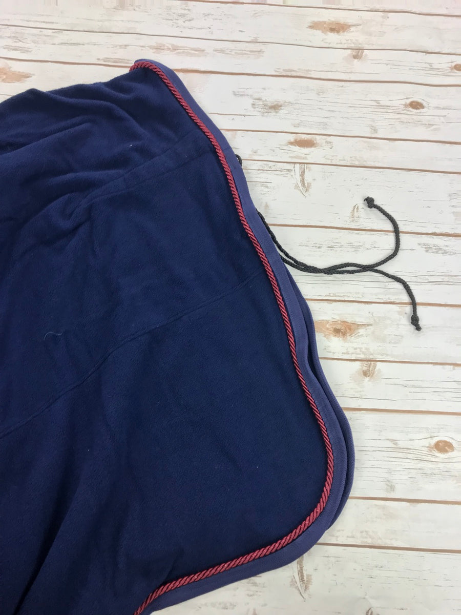 TuffRider Fleece Dress Sheet in Navy - Size 76