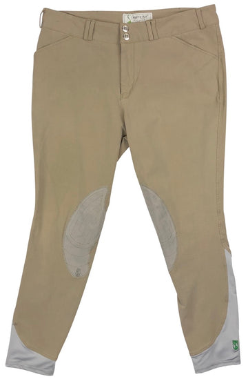 Tredstep Symphony Verde Breeches in Tan - Men's 36R