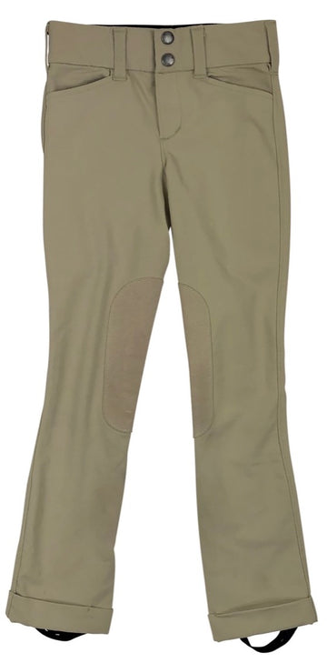 Irideon Hampshire Jods in Tan - Children's 6 | S