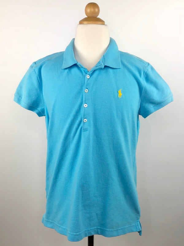 Polo Ralph Lauren Kids Polo in Aqua - Children's XL