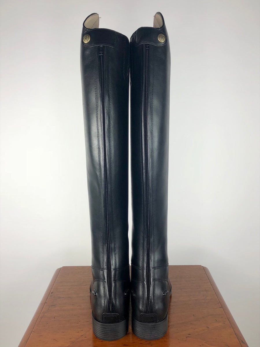 Ariat Westchester Zip Dress Boot in Black- Back View