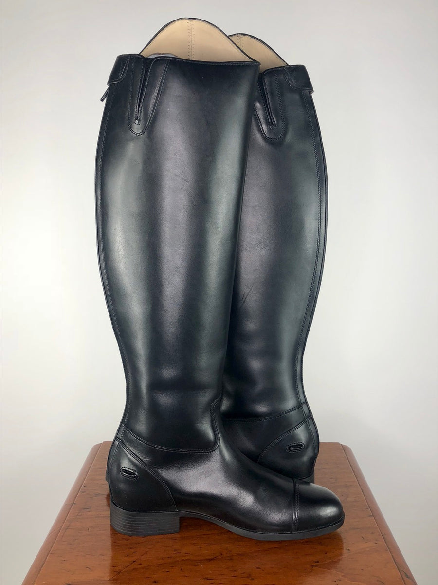 Ariat Westchester Zip Dress Boot in Black- Side View