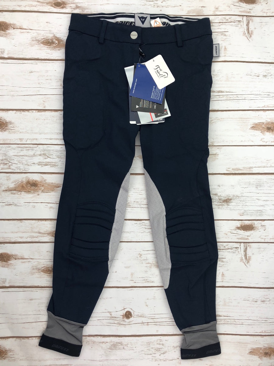 Dainese Ribot Breeches in Navy - Front View