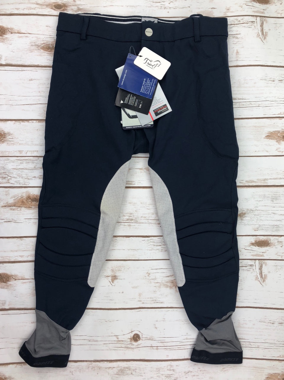 Dainese Ribot Breeches in Navy - Men's IT 56