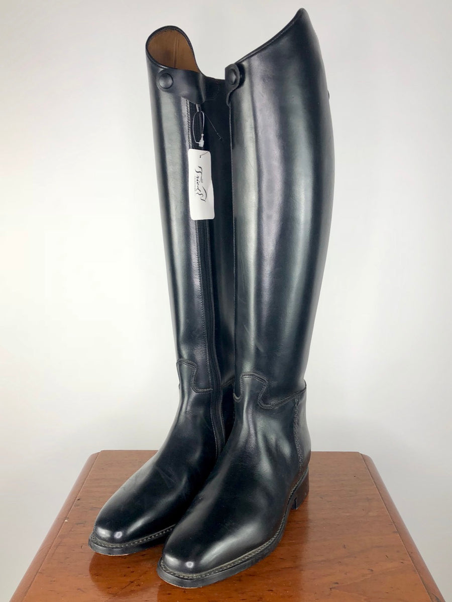Cavallo Piaffe Plus Zip Dress Boots in Black -  Front View