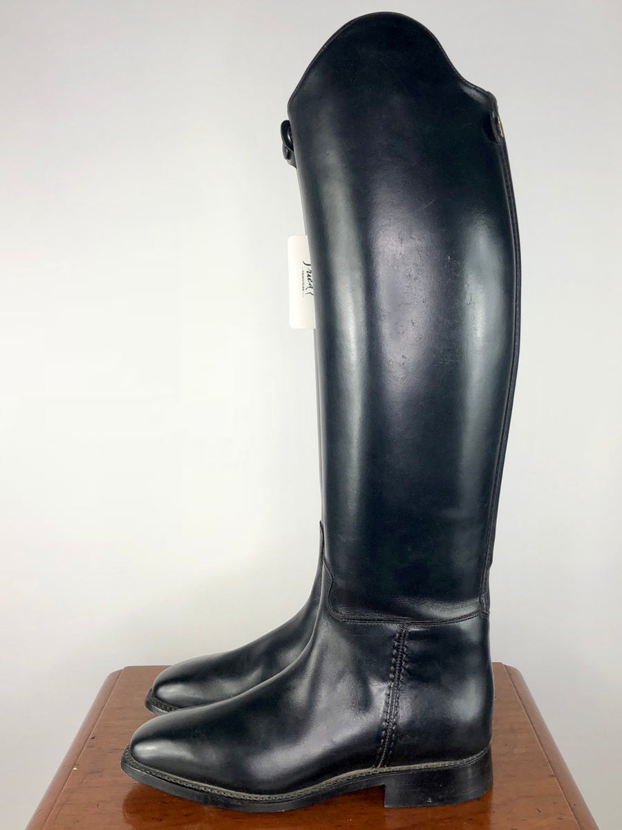 Cavallo Piaffe Plus Zip Dress Boots in Black - Left Side View