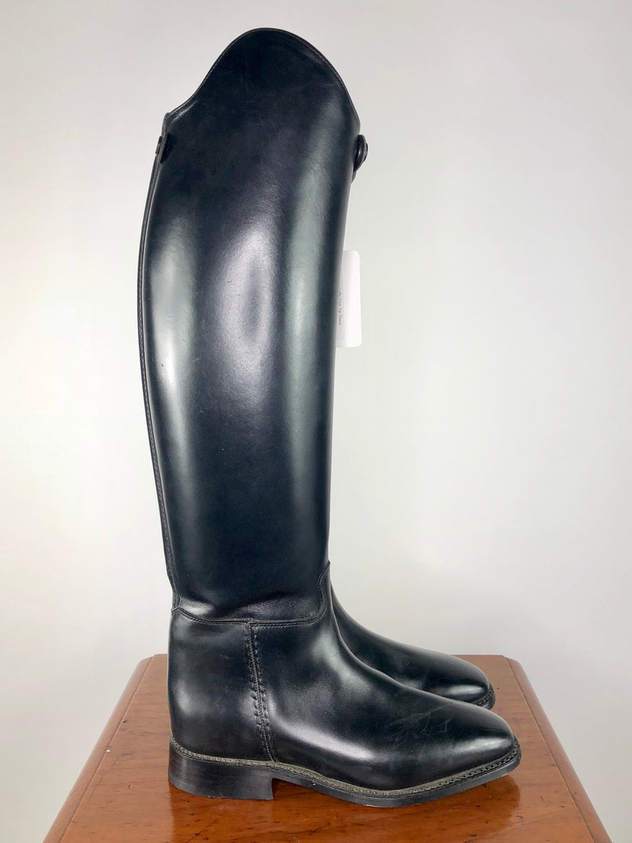 Cavallo Piaffe Plus Zip Dress Boots in Black -  Right Side View