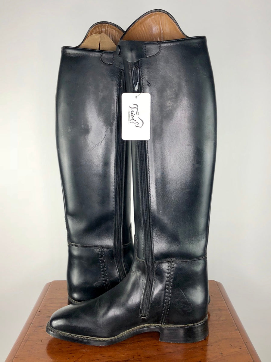 Cavallo Piaffe Plus Zip Dress Boots in Black - Inside View 2