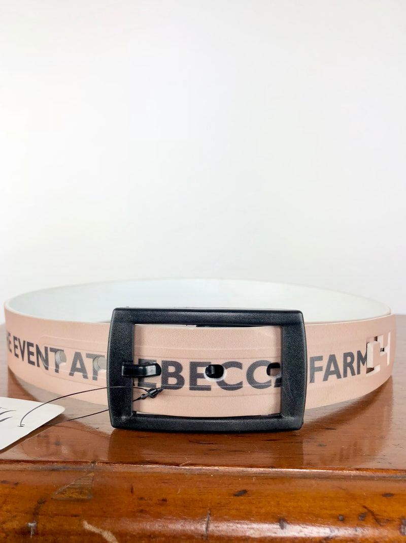 The Event at Rebecca Farm C4 Belt in Black/Tan - Approx. 31""