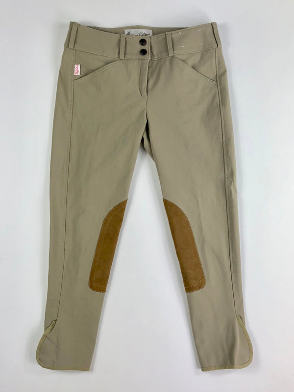 The Tailored Sportsman Trophy Hunter Breeches in Tan - Children's 16R