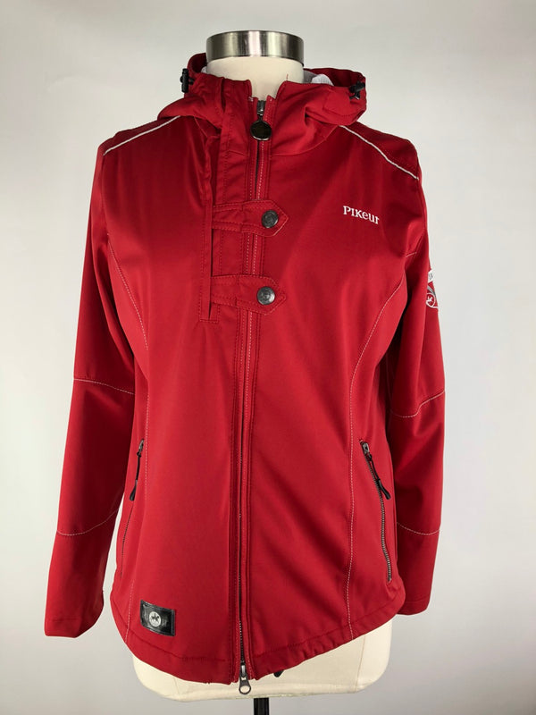 Pikeur Aventina Softshell Jacket in Red - Women's Ger 42/Large