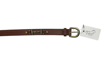 Tory Leather Bit Belt in Brown - 28