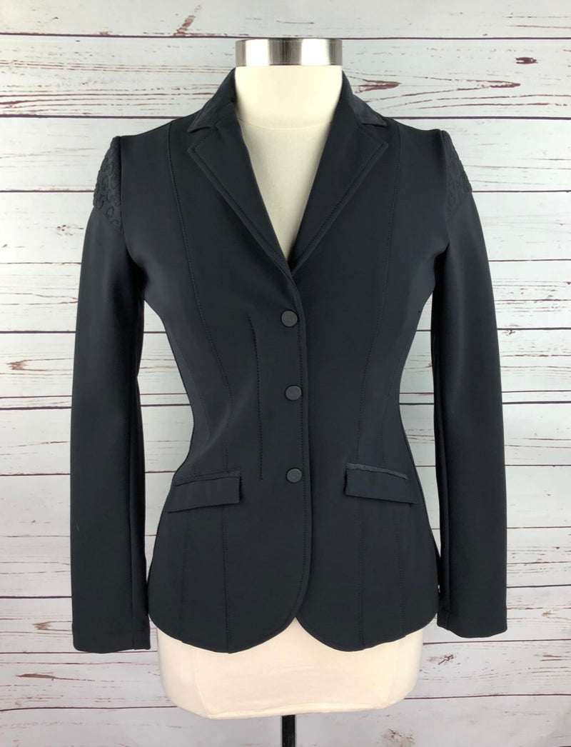 Cavalleria Toscana Competition Jacket in Black - Women's IT 42