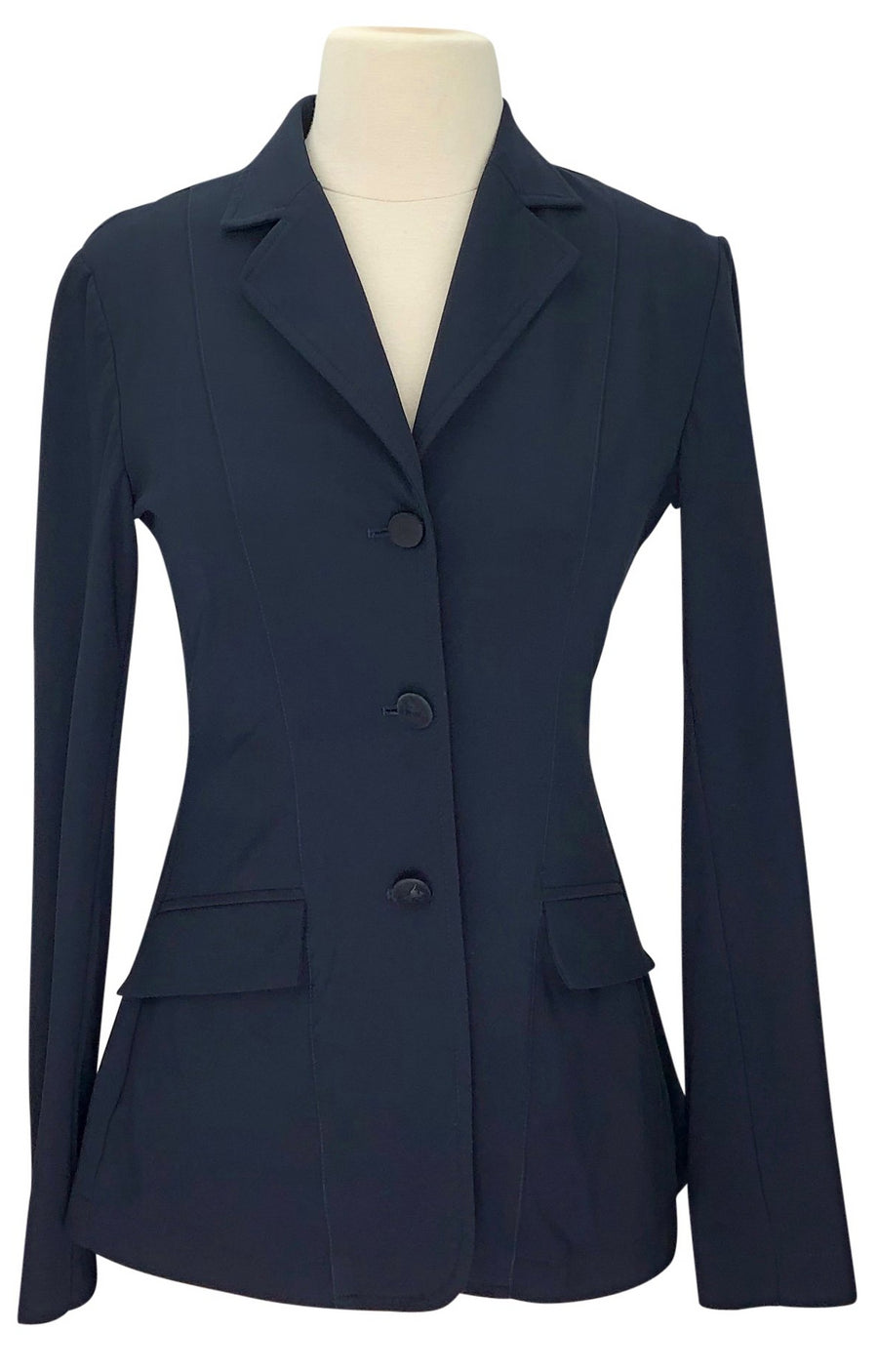 front view of RJ Classics Xtreme Washable Hunt Coat in Navy