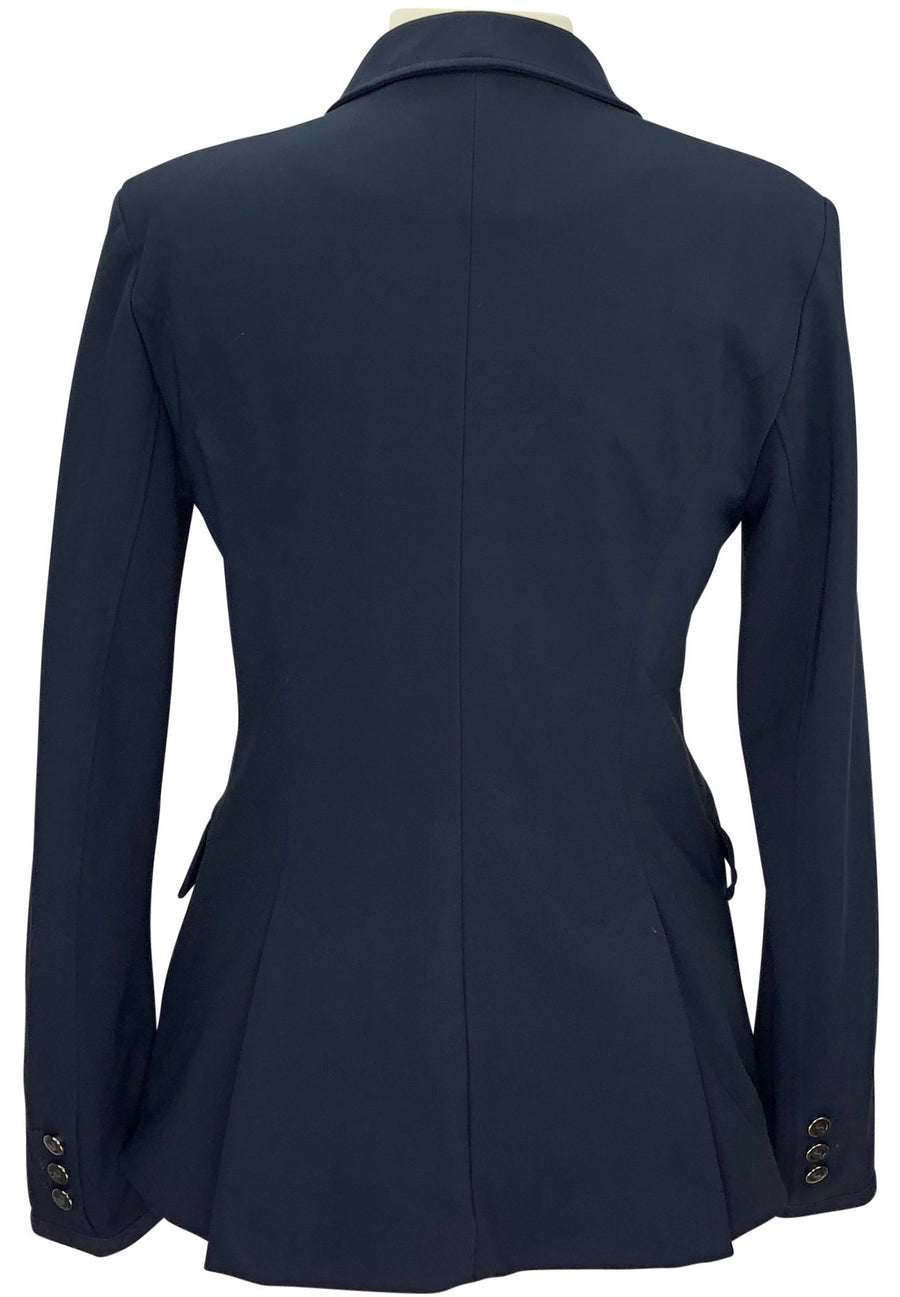 back view of Samshield Alix Show Jacket in Navy
