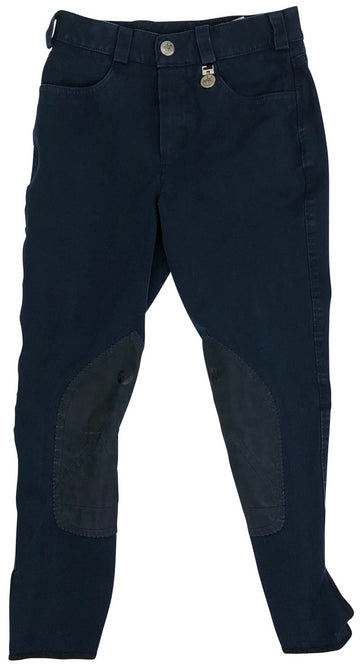 front view Pikeur Lea Breeches in Navy
