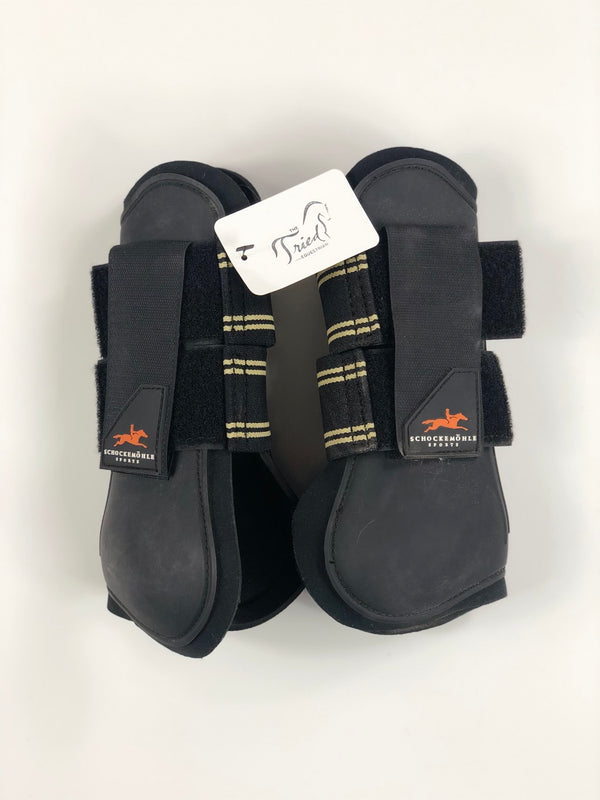 Schockemohle Tendon Boots in Black - Horse Size