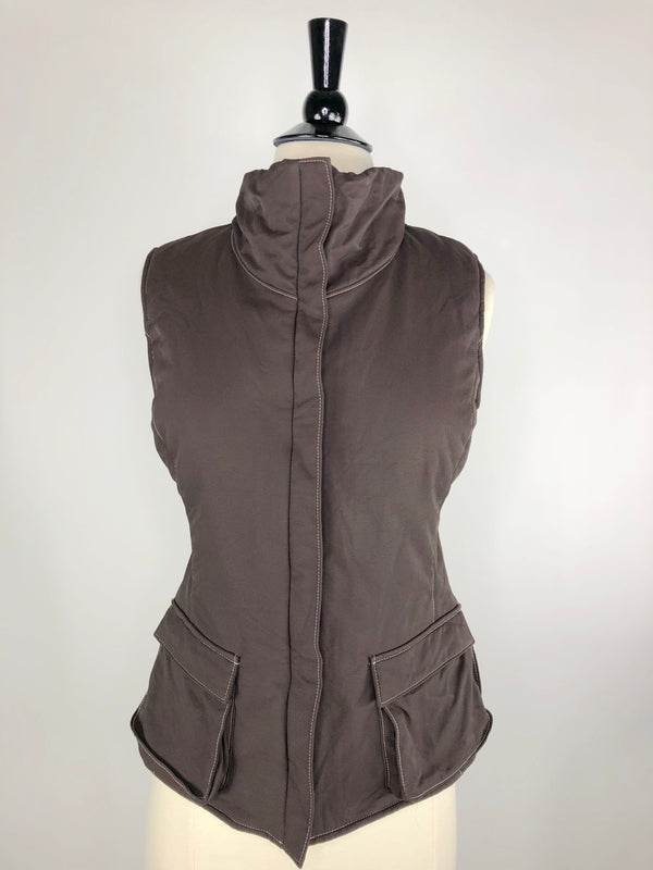 Alessandro Albanese Vest in Brown - Women's Small