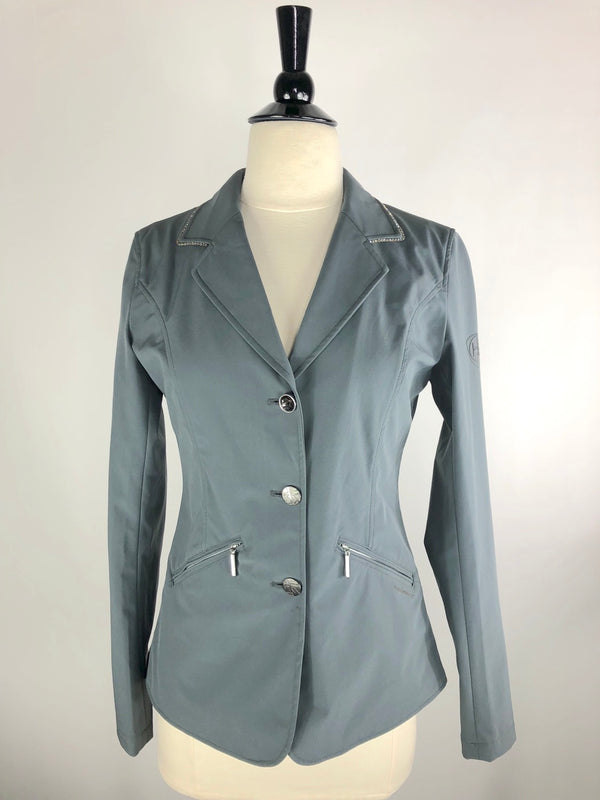 Horseware Embellished Crystal Competition Jacket in Grey - Women's XS