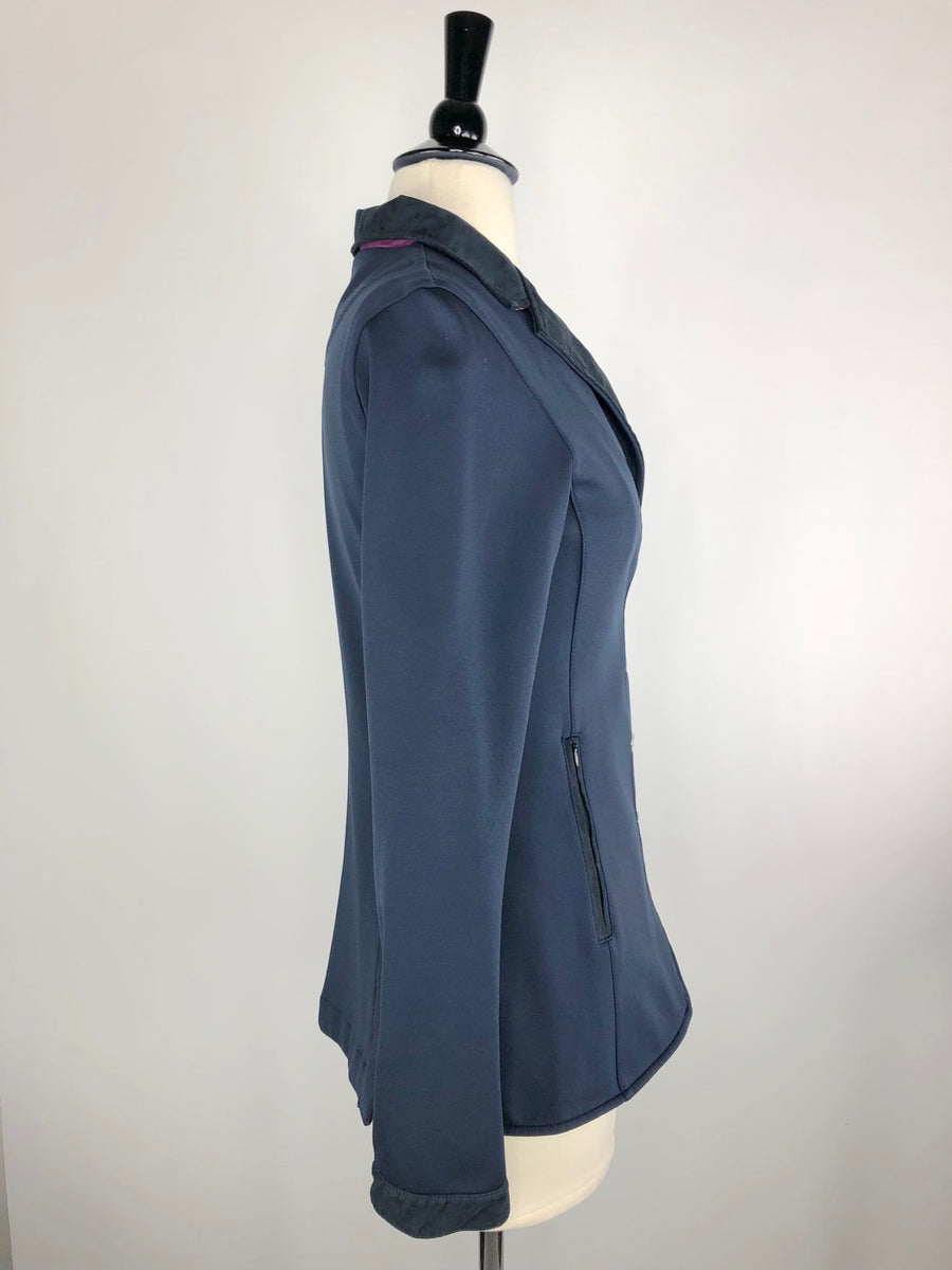 Navy Animo Competition Jacket- Right Side View
