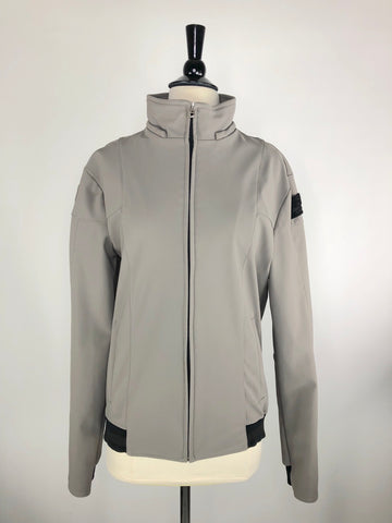 Cavalleria Toscana Softshell Jacket in Grey -  Front View
