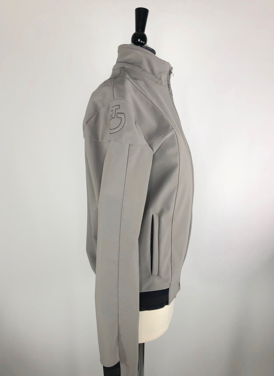 Cavalleria Toscana Softshell Jacket in Grey -  Right Side View