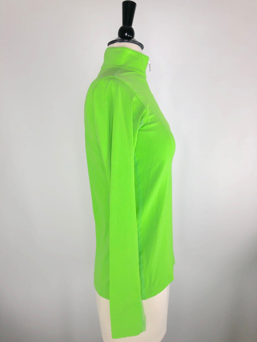 Dover Saddlery CoolBlast IceFil Long Sleeve Shirt in Lime Green -  Right Side View
