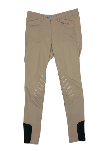 front view of Animo Pony Division Breeches in Beige
