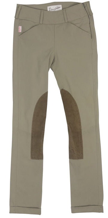 front view of Tailored Sportsman Side Zip Trophy Hunter Jods in Tan