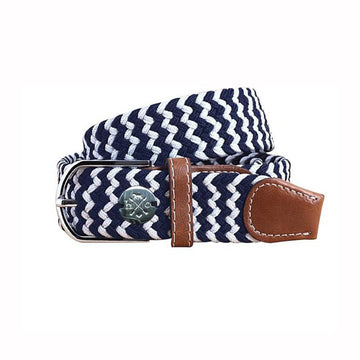 Hunt Club 'The Derby Belt' in Navy Hand Gallop