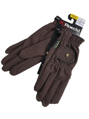 Roeckl Roeck-Grip Gloves in Mocha -  Overview