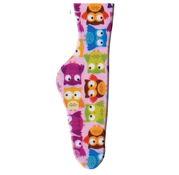 Ovation Zocks Boot Socks in Tiny Owls - Children's One Size