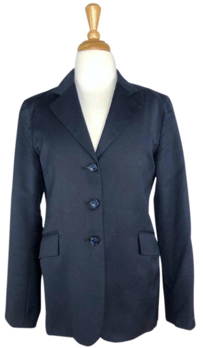 Grand Prix Extreme Stretch Hunt Coat in Navy - Children's 14T | L