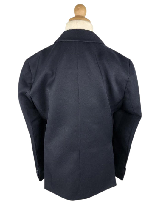 back view of Equistar Children's Riding Jacket in Navy