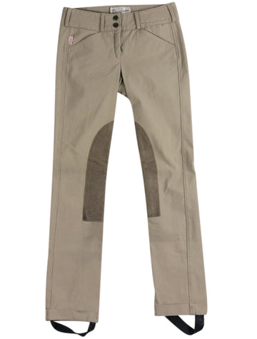 front view of Tailored Sportsman Trophy Hunter Jods in Tan