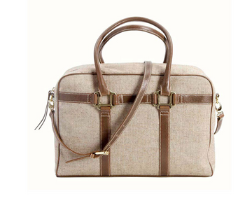 Carteret Tweed Satchel