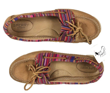 Sperry Oasis Boat Shoe in Multi Color - Women's 8