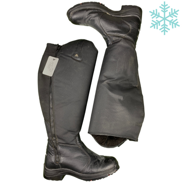 Mountain Horse Active Winter Tall Boots in Black - Women's 9 (Wide/Reg)