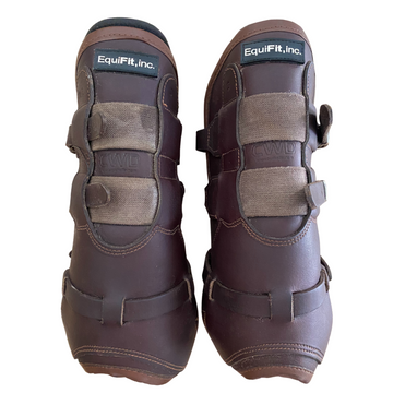 Equifit T-Boot LUXE Open Front Boots in Brown