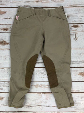 The Tailored Sportsman TS Breeches in Tan - Children's 10R | M