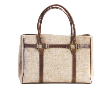 Oughton Limited Carteret Tote in Tweed - Overview