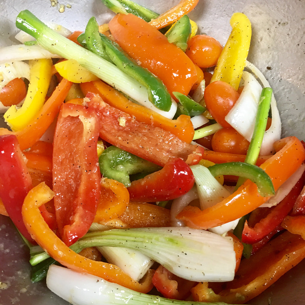 Sweet Bell Pepper Citrus Salad