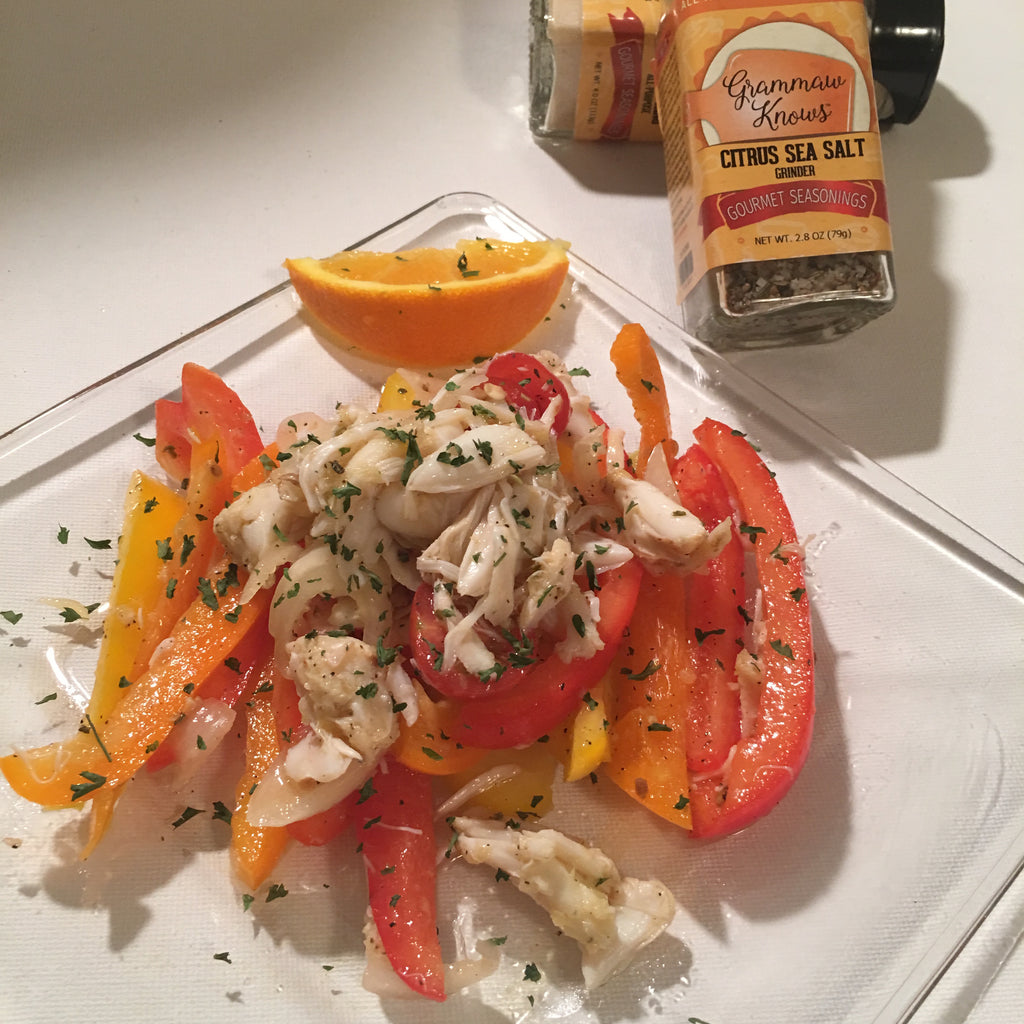 Lump Crab & Sweet Bell Pepper Salad