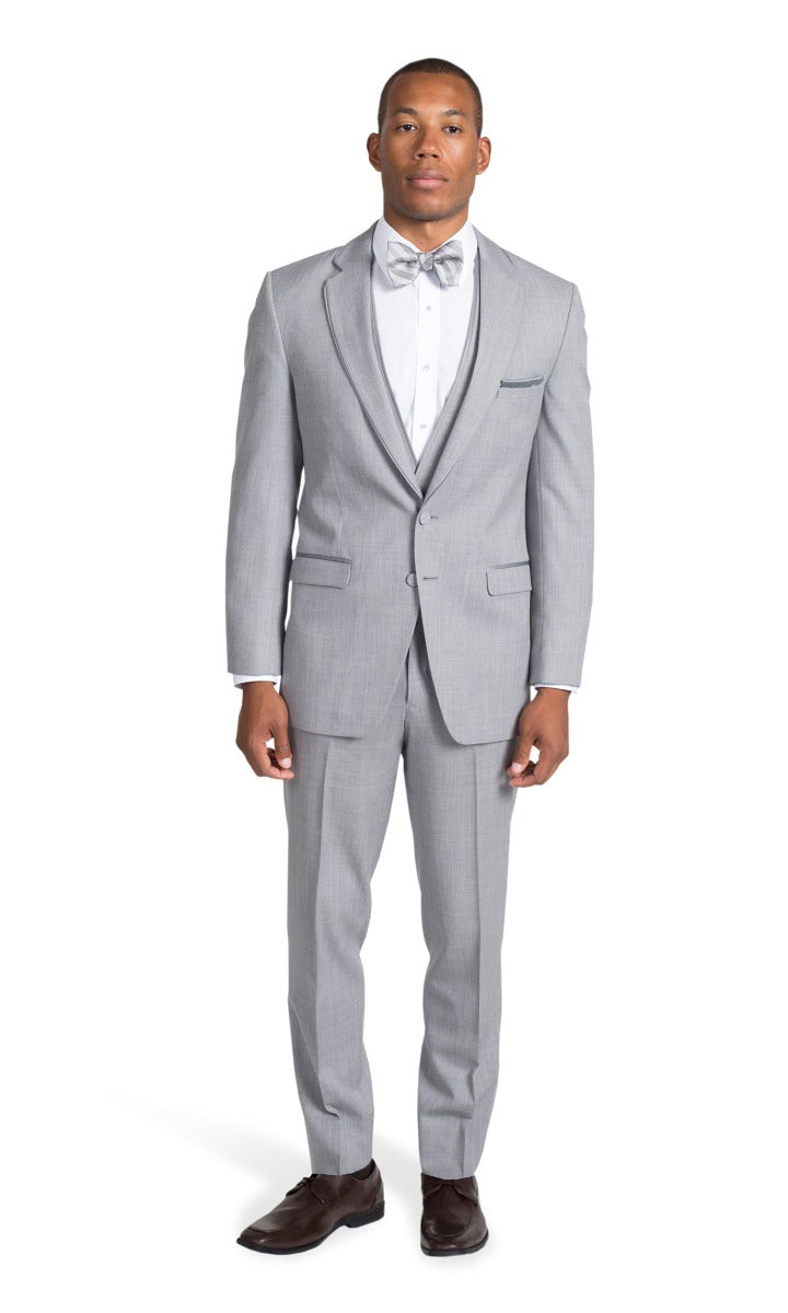 Heather Grey Suit