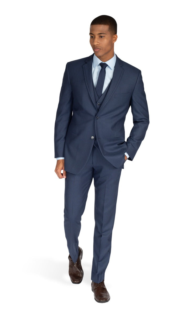 Dark Blue Broadway Suit