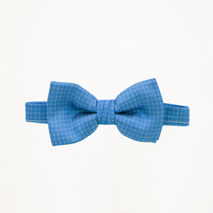 Marine Blue Sterling Bow Tie