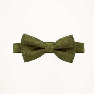 Olive Sterling Bow Tie