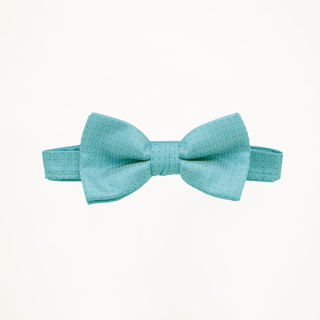 Rio Turquoise Sterling Bow Tie