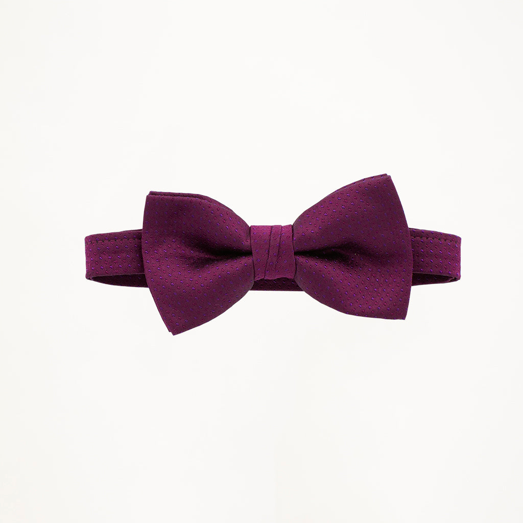 Sangria Sterling Bow Tie