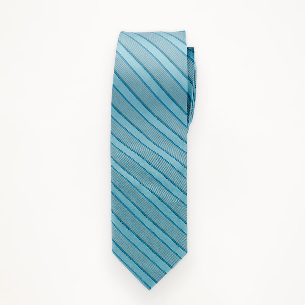 Beyond the Sea Stripe Long Tie